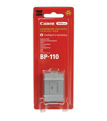 Canon BP-110 Rechargeable Lithium-Ion Battery for Select Canon Camcorders