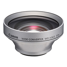 Canon WD-H34 II 34mm 0.7x Wide Angle Converter Lens (Silver)