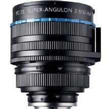 Schneider Optics 50mm f/2.8 Super Angulon Lens for Nikon