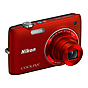 Nikon Coolpix S4100 Digital Camera (Red)
