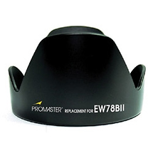 Promaster EW78BII Replacement Lens Hood for Canon