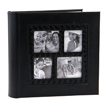 4x6 inch Multi Frame Photo Album (Black) Image 0