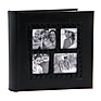 4x6 inch Multi Frame Photo Album (Black)