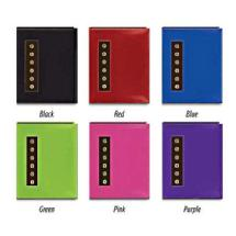 Pioneer 4x6 Metal Button Sewn Brag Photo Album (Assorted Colors)