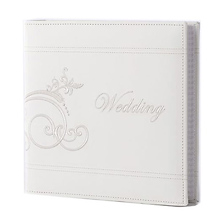 4 x 6 Embroidered Wedding Photo Album Image 0