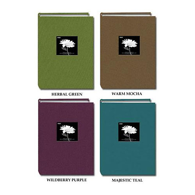 4x6 Natural Colors Cloth Frame Album (Assorted Colors) Image 0