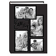 4 x 6 Collage Black Embossed Family Photo Album
