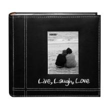Pioneer 4 x 6 Live, Love, Laugh Photo Album