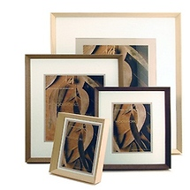 Framatic Woodworks Barn Grey Single Mat 5x7 Frame
