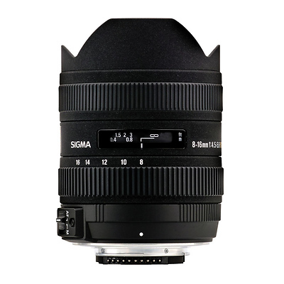 8-16mm f/4.5-5.6 DC HSM Lens for Nikon Image 0