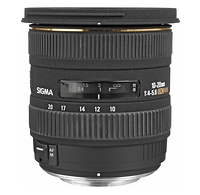 10-20mm f/4-5.6 EX DC HSM Autofocus Lens for Canon