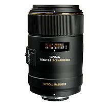 Sigma 105mm f/2.8 EX DG Autofocus Lens for Nikon