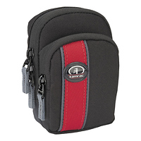 Tamrac | Rally Digital 15 Foam-Padded Pouch (Black/Red) | 341572