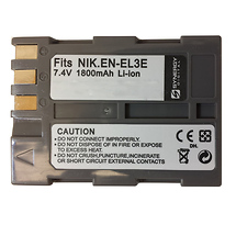 Synergy Digital Replacement for Nikon EN-EL3e Battery