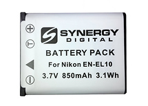 Synergy Digital SD-ENEL10 Replacement for Nikon EN-EL10 Battery