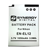 Replacement for Nikon EN-EL12 Battery