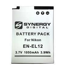 Synergy Digital Replacement for Nikon EN-EL12 Battery