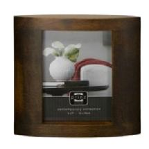 Prinz 4 x 6 Ellipse Basswood Walnut Wood Frame
