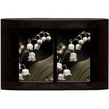 Prinz 2 / 4 x 6 Ellipse Basswood Black Wood Frame