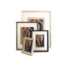Framatic Woodworks 8x10 Frame for 5x7 Photograph Black