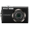 Nikon Coolpix S4000 Digital Camera (Black) - Manufacturer Reconditioned