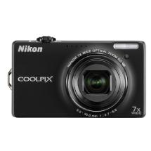 Nikon Coolpix S6000 Digital Camera (Black) - Refurbished