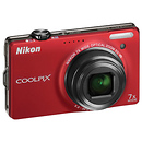 Nikon | Coolpix S6000 Digital Camera (Red) - Manufacturer Reconditioned | 26215B