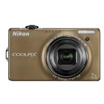Nikon Coolpix S6000 Digital Camera (Bronze) - Manufacturer Reconditioned