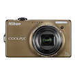 Coolpix S6000 Digital Camera (Bronze) - Refurbished