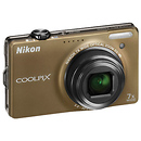Nikon | Coolpix S6000 Digital Camera (Bronze) - Manufacturer Reconditioned | 26216B