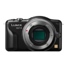 Panasonic Lumix DMC-GF3 Digital Camera Body (Black)