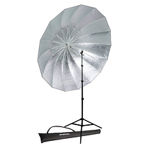 Westcott Soft Silver Parabolic Umbrella Speedlite Kit