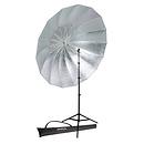 Soft Silver Parabolic Umbrella Speedlite Kit