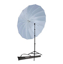 Westcott 7ft. Parabolic Umbrella (Black/White) Kit
