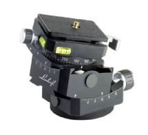 Linhof 3D Micro Geared Leveling Pan & Tilt Head with Quickfix