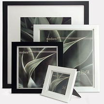 Framatic 4 x 6 Modern Black Frame