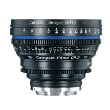 Zeiss Compact Prime CP.2 18mm f/3.6T Lens (Canon EOS-Mount)