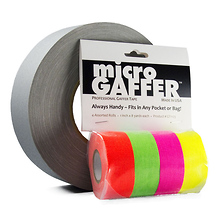 microGAFFER Fluorescent Tape Kit (4 Pack) Image 0