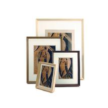 Framatic Woodworks 16 X 20 Old Barn Grey Hardwood Frame, 8 x 12 Mat