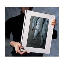 Framatic 8 x 12 Fineline Silver Aluminum Frame
