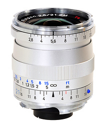 Zeiss 21mm f/2.8 Biogon T* ZM MF Lens (Leica M-Mount) - Silver