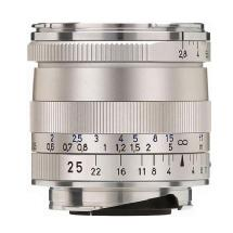 Zeiss Wide Angle 25mm f/2.8 Biogon T* ZM Manual Focus Lens (Silver)