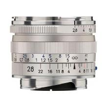 Zeiss Wide Angle 28mm f/2.8 Biogon T* ZM Manual Focus Lens (Leica M-Mount) - Silver