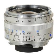 Zeiss 35mm f/2.8 C Biogon T* ZM Manual Focus Lens (Silver)