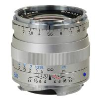 Zeiss | 50mm f/2.0 Planar T* ZM MF Lens for Zeiss Ikon & Leica M Cameras (Silver) | 1365660