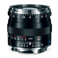 Zeiss | 50mm f/2.0 Planar T* ZM MF Lens for Zeiss Ikon & Leica M Cameras (Black) | 1365661