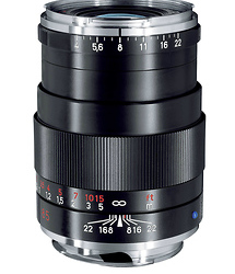 Zeiss 85mm f/4.0 Tele-Tessar T* ZM Manual Focus Lens (Leica M-Mount) - Black