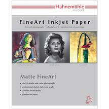 Hahnemuhle 11 x 17' Photo Rag Paper (25 Sheets)