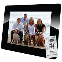 Impecca DFM1043 10' Digital Photo Frame (Black)