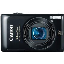 Canon PowerShot ELPH 510 HS Digital Camera (Black)